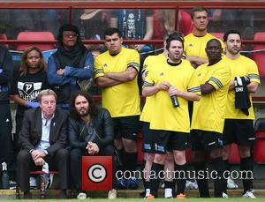 Harry Redknapp, Russell Brand, Maxi Priest, George Gilbey, Daniel Lassmann and Dan Osbourne