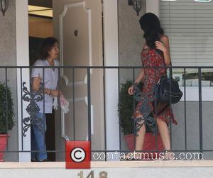 Terri Seymour - New mum Terri Seymour arriving at the Aurelia Adrian Institute Beauty Salon in Beverly Hills in a...