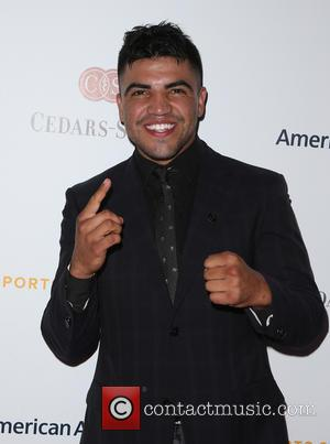 Victor Ortiz - 30th Annual Cedars-Sinai Sports Spectacular - Arrivals at Hyatt Regency Century City Plaza - Century City, California,...