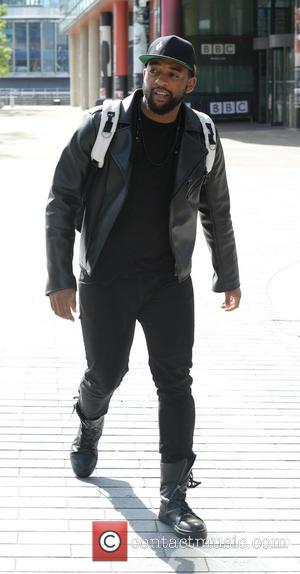 Oritsé Williams - Oritsé Williams leaves the BBC Breakfast studios at MediaCityUK after appearing on the show to promote his...