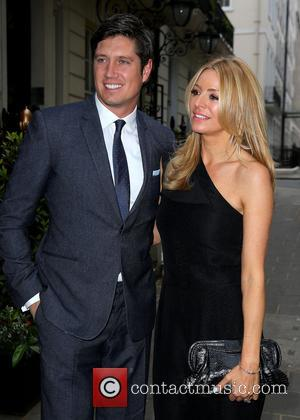 Vernon Kay and Tess Daly - Hawn Foundation Dinner at Annabel's - Outside Arrivals - London, United Kingdom - Monday...