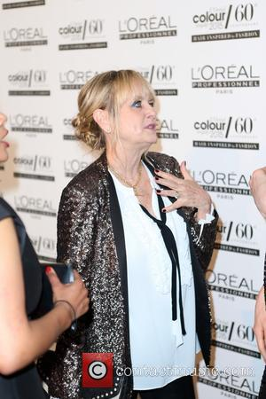 Twiggy - Guest attend 2015 L'oreal Professional Colour Trophy Awards at Evolution, Battersea at Evolution - London, United Kingdom -...