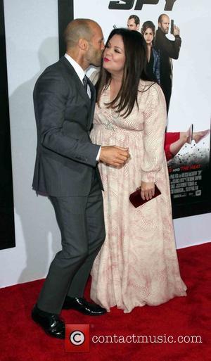 Jason Statham and Melissa Mccarthy