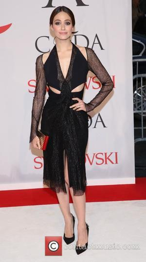 Emmy Rossum - 2015 CFDA Fashion Awards at Alice Tully Hall, Lincoln Center - Arrivals - New York, New York,...