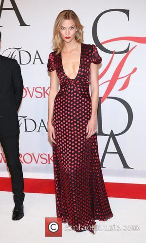 Karlie Kloss - the 2015 CFDA Fashion Awards at Alice Tully Hall at Lincoln Center on June 1, 2015 in...