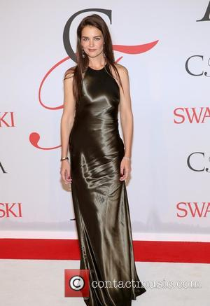 Katie Holmes - the 2015 CFDA Fashion Awards at Alice Tully Hall at Lincoln Center on June 1, 2015 in...
