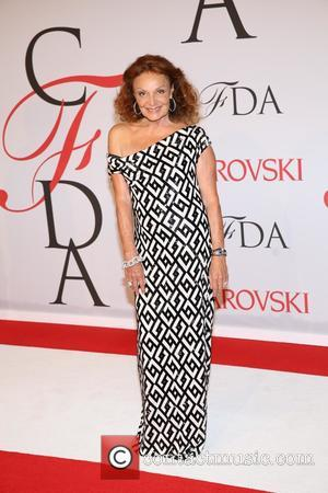 Diane von Furstenberg - 2015 CFDA Fashion Awards at Alice Tully Hall at Lincoln Center - Arrivals - New York,...