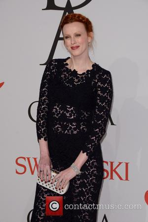 Karen Elson - 2015 CFDA Fashion Awards - Red Carpet Arrivals - Manhattan, New York, United States - Monday 1st...