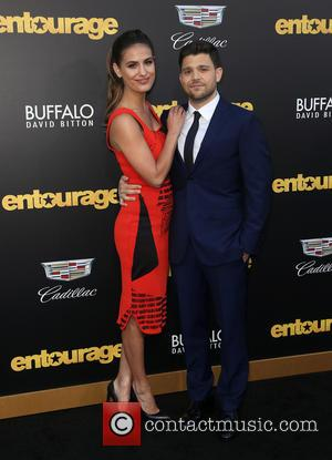 Breanne Racano and Jerry Ferrara