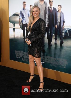 Ronda Rousey - Warner Bros. Pictures' L.A. Premiere of 'Entourage' held at The Regency Village Theatre - Arrivals at The...