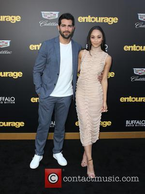Jesse Metcalfe and Cara Santana - Warner Bros. Pictures' L.A. Premiere of 'Entourage' held at The Regency Village Theatre -...