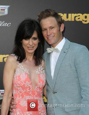 Perrey Reeves and Aaron Fox - Warner Bros. Pictures' L.A. Premiere of 'Entourage' held at The Regency Village Theatre -...