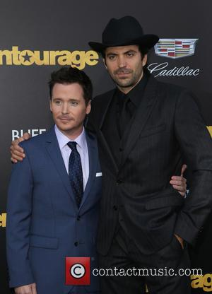 Kevin Connolly and Rhys Coiro