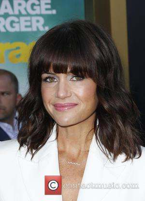 Carla Gugino - Warner Bros. Pictures' L.A. Premiere of 'Entourage' held at The Regency Village Theatre - Arrivals at The...