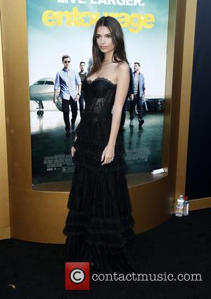 Emily Ratajkowski - Warner Bros. Pictures' L.A. Premiere of 'Entourage' held at The Regency Village Theatre - Arrivals at The...