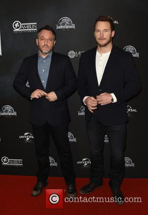 Chris Pratt and Colin Trevorrow