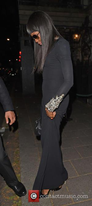 Naomi Campbell - The Hawn Foundation UK - fundraising dinner held at Anabel's Club - London, United Kingdom - Monday...