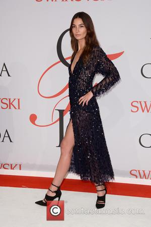 Lily Aldridge - 2015 CFDA Fashion Awards - Arrivals - New York City, New York, United States - Tuesday 2nd...