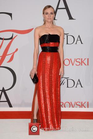 Diane Kruger - 2015 CFDA Fashion Awards - Red Carpet Arrivals - New York City, New York, United States -...