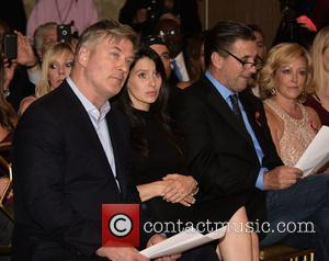 Alec Baldwin, Hilaria Baldwin and Billy Baldwin
