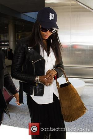 Naomi Campbell - Naomi Campbell at Los Angeles International Airport (LAX) at LAX - Los Angeles, California, United States -...