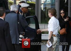Samuel L. Jackson - Samuel L. Jackson arriving at Axel Springer building in Kreuzberg - Berlin, Germany - Tuesday 2nd...