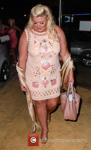 Gemma Collins - TOWIE stars arrive for filming at Güey restaurant in Marbella at Güey restaurant Marbella - Marbella, Spain...