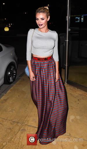 Chloe Sims - TOWIE stars arrive for filming at Güey restaurant in Marbella at Güey restaurant Marbella - Marbella, Spain...