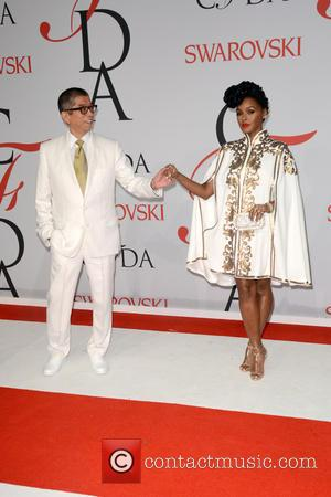 Janelle Monae - 2015 CFDA Fashion Awards at Alice Tully Hall, Lincoln Center - Arrivals - Manhattan, New York, United...