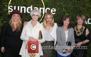 Clare Munn, Maria Bello, Sally Field and Pat Mitchell