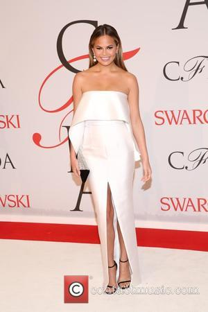 Chrissy Teigen - 2015 CFDA Fashion Awards at Alice Tully Hall, Lincoln Center - Arrivals - New York, New York,...