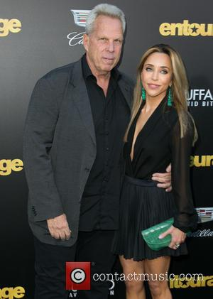 Steve Tisch and Katia Francesconi - Warner Bros. Pictures' L.A. Premiere of 'Entourage' held at The Regency Village Theatre -...