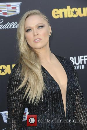 Ronda Rousey - Warner Bros. Pictures' L.A. Premiere of 'Entourage' held at The Regency Village Theatre - Arrivals at Regency...