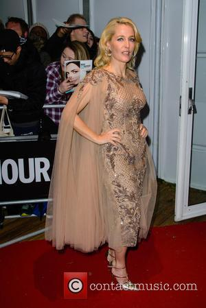 Gillian Anderson - Glamour Women of the Year Awards - Arrivals - London, United Kingdom - Tuesday 2nd June 2015