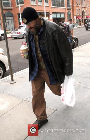 Judd Nelson - Judd Nelson out and about in Beverly Hills walking in heavy workman boots, leather jacket and a...