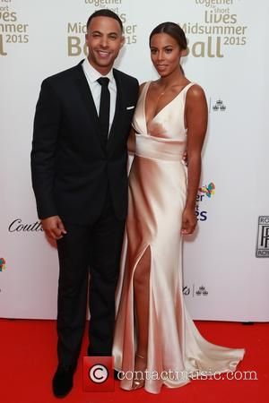 Marvin Humes and Rochelle Humes - Red Carpet arrivals at the Together for Short Lives Midsummer Ball 2015 at Banqueting...