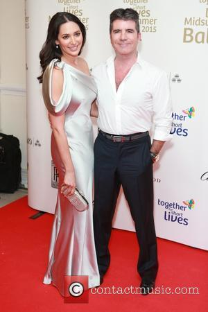 Lauren Silverman and Simon Cowell - Red Carpet arrivals at the Together for Short Lives Midsummer Ball 2015 at Banqueting...