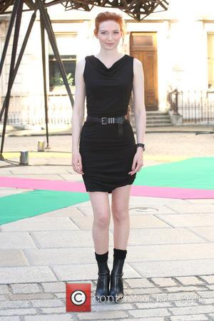 Eleanor Tomlinson - Royal Academy Summer Preview Party 2015 - Arrivals - London, United Kingdom - Wednesday 3rd June 2015