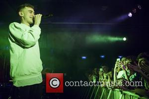 Olly Alexander - Years & Years performing live at their sold out UK tour date in Exeter at the Lemon...