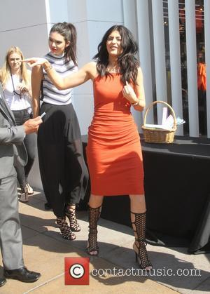 Kylie Jenner and Kendall Jenner - Launch party for the Kendall + Kylie fashion line at TopShop - Los Angeles,...