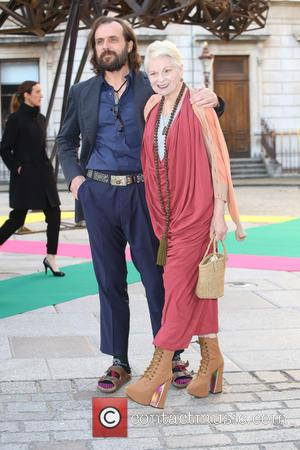 Vivienne Westwood and Andreas Kronthaler - Royal Academy Summer Preview Party 2015 - Arrivals - London, United Kingdom - Wednesday...