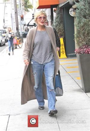 Sharon Stone - Sharon Stone arrives at Beverly Hills Nail Design for a manicure and pedicure - Los Angeles, California,...