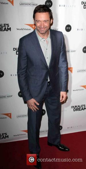 Hugh Jackman Attends Adoption Fundraiser