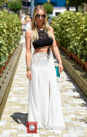 Lauren Pope - TOWIE stars film at Cavalli club in Marbella at Cavalli Club - Marbella, United Kingdom - Thursday...