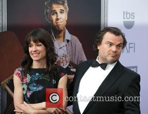 Tanya Haden and Jack Black - Celebrities attend American Film Institute's 43rd Life Achievement Award Gala at Dolby Theatre. at...