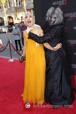 Hayley Kiyoko - Screening of 'Insidious: Chapter 3' held at TCL Chinese Theatre - Arrivals - Los Angeles, California, United...