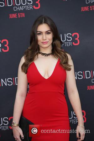 Sophie Simmons - Screening of 'Insidious: Chapter 3' held at TCL Chinese Theatre - Arrivals - Los Angeles, California, United...