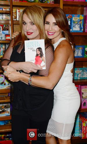 Ednita Nazario and Laura Posada