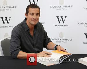 Bear Grylls - Bear Grylls signs copies of his new book 'Ghost Flight' at Waterstones Jubilee Place - London, United...