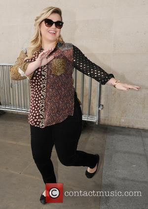 Kelly Clarkson - Kelly Clarkson at the BBC Radio 1 studios - London, United Kingdom - Thursday 4th June 2015